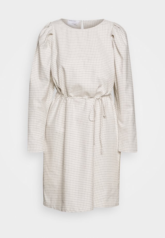 ALFIE SLEEVE DRESS - Day dress - cream/black