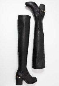 Even&Odd - Stivali sopra il ginocchio - black - 3