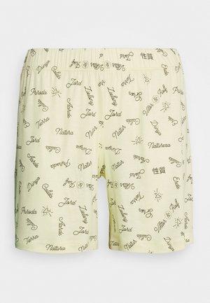 V & R DAMEN SHORTS - Pyjama bottoms - honey yellow