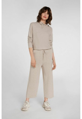 Trousers - light stone