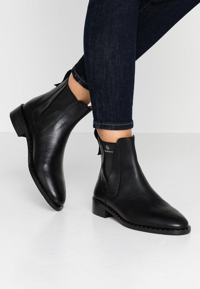 HAMPTON - Classic ankle boots - black