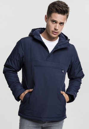 PADDED PULL OVER JACKET - Light jacket - navy
