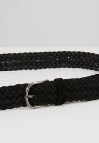Anderson's - BELT - Pletený pásek - black - 5