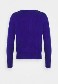 Marks & Spencer London - CREW CARDI PLAIN - Strikjakke /Cardigans - royal blue - 1