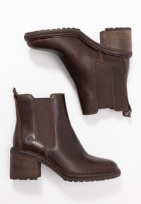 Timberland - SIENNA HIGH CHELSEA - Classic ankle boots - dark brown - 3
