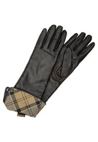 Barbour - LADY JANE GLOVE - Gloves - Black With Dress - 0