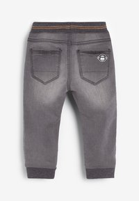 Next - RIB WAIST - Relaxed fit jeans - grey - 1