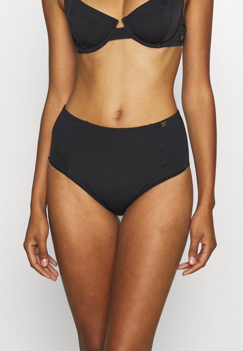 Tommy Hilfiger - SOPHISTICATED HIGH WAIST - Bikini bottoms - black