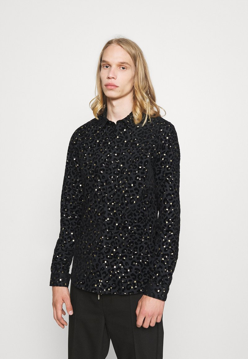 Twisted Tailor - SLATER SHIRT - Shirt - black