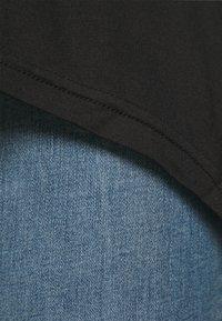 CAPSULE by Simply Be - HANKY HEM TUNICS LONG SLEEVE 2 PACK  - Topper langermet - black/grey marl - 5