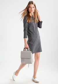 Vila - VITINNY - Day dress - medium grey melange/black - 1