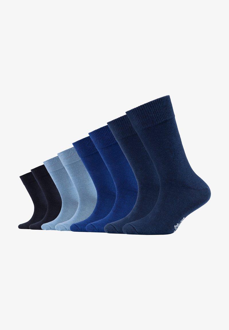 s.Oliver - 8 PACK - Socks - blue