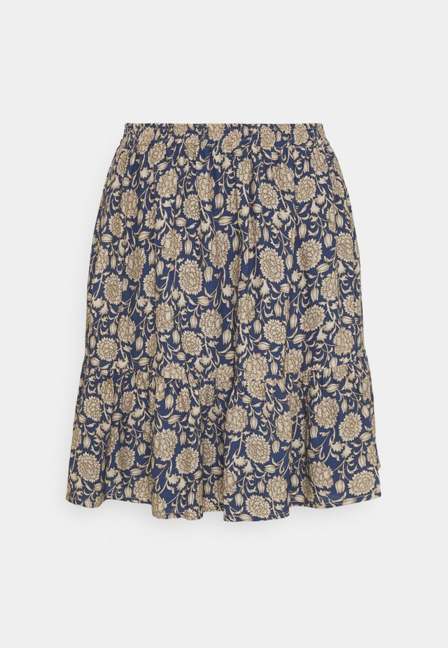 CHARLIE BOMBAY SKIRT - Gonna a campana - blue