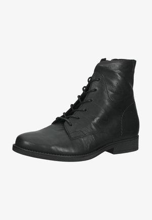 Šněrovací kotníkové boty - schwarz (micro) 17