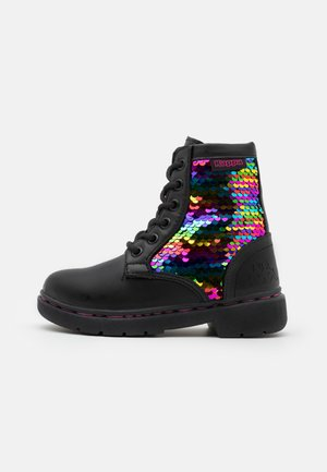 DEENISH UNISEX - Obuwie hikingowe - black/multicolor