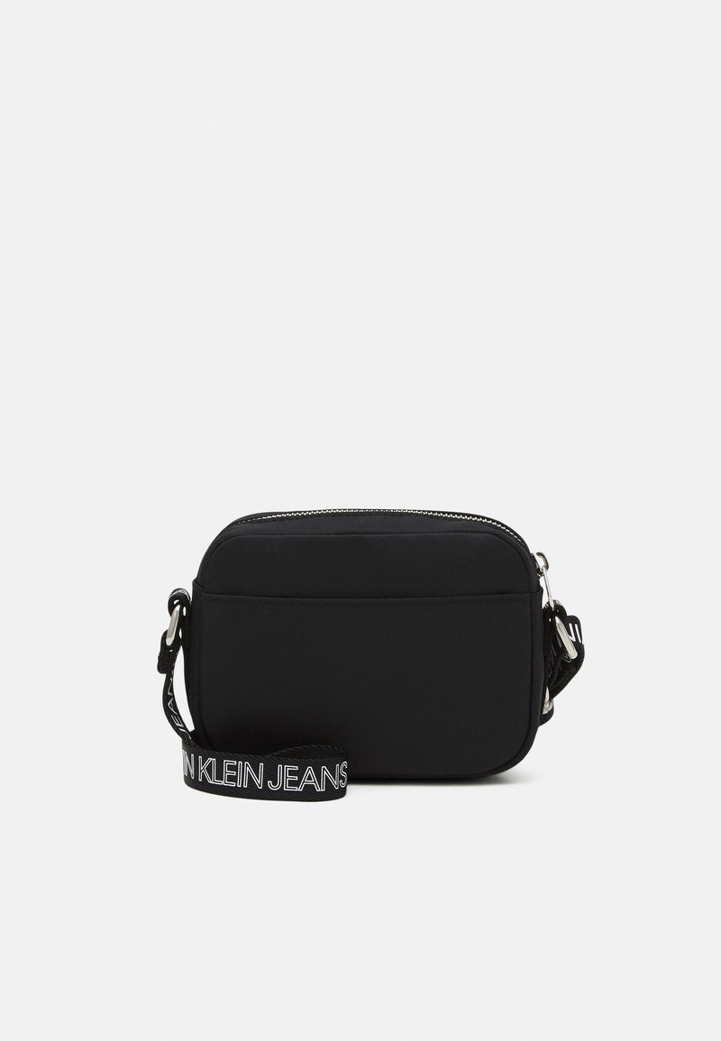 Calvin Klein Jeans - LOGO CROSS BODY BAG - Across body bag - black