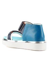 United Nude - VITA - Platform sandals - blue beat - 2