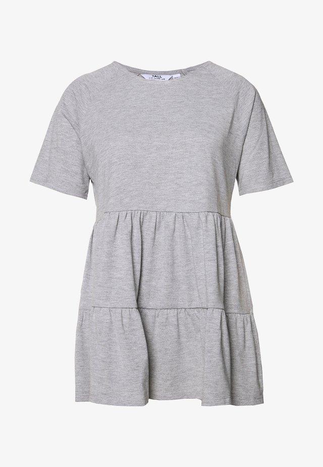 SMOCK - Basic T-shirt - grey marl