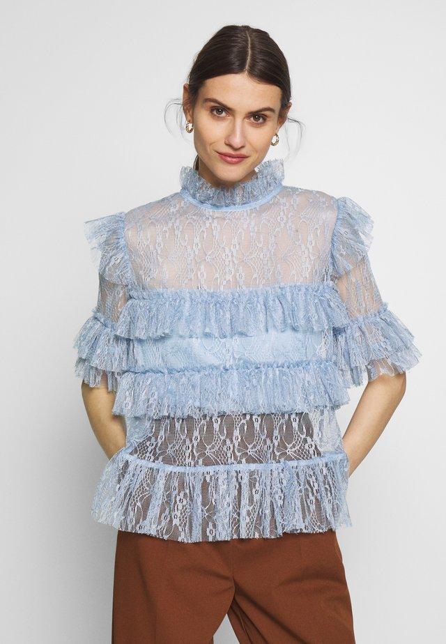 RACHEL BLOUSE - Bluser - lavender blue