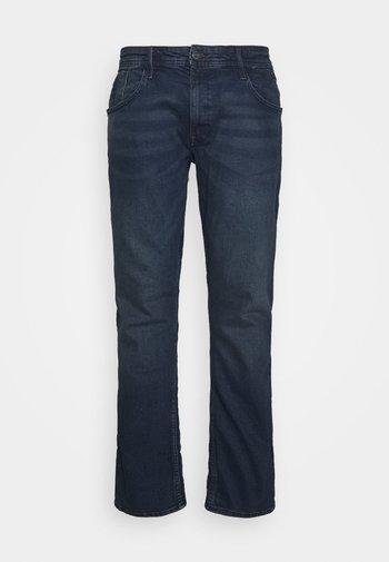 TWISTER FIT - Straight leg jeans - denim black blue