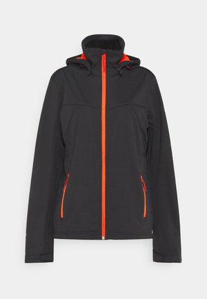 BIGGS - Soft shell jacket - anthracite