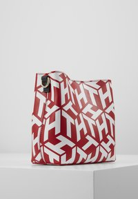 Tommy Hilfiger - ICONIC CROSSOVER MONO - Across body bag - red - 3