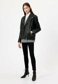 HUGO - LITSA - Leather jacket - black - 1