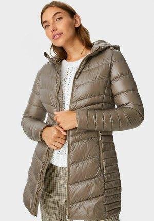 Płaszcz puchowy - light brown