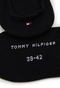Tommy Hilfiger - MEN FOOTIE 2 PACK - Trainer socks - black - 1