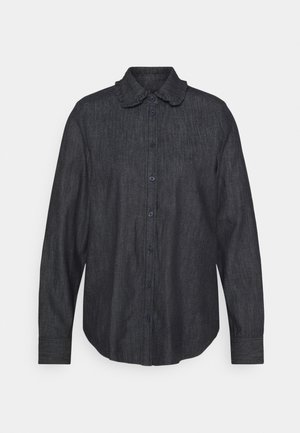 RUFFLE - Button-down blouse - indigo