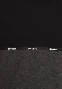 Lacoste Sport - T-shirt imprimé - black/pitch chine - 2