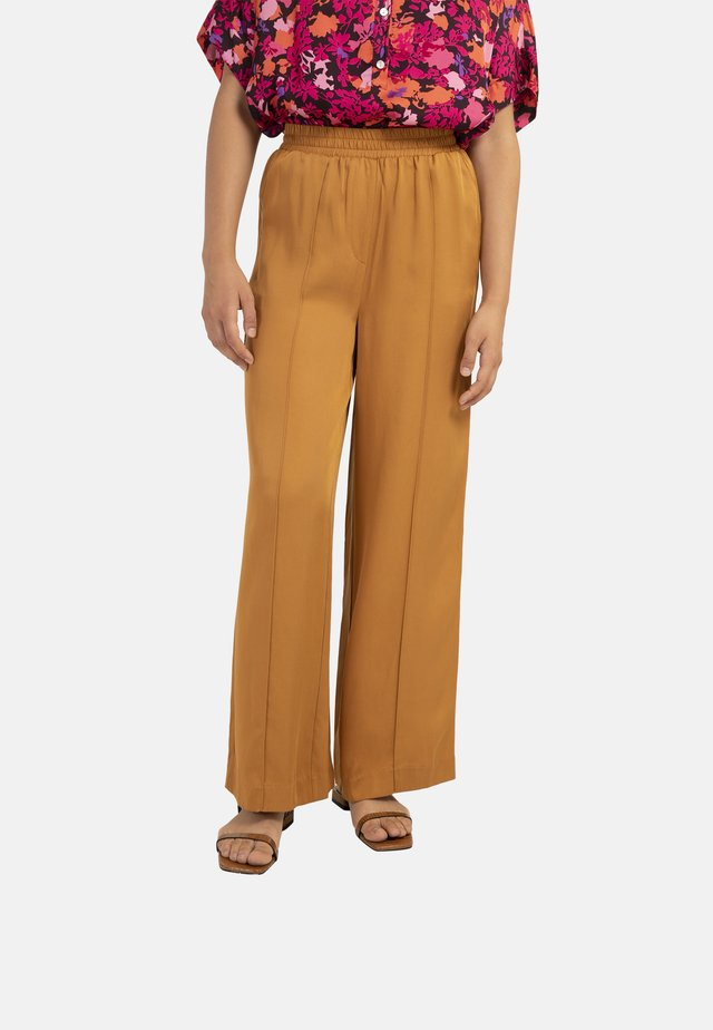 PALMINA - Pantalon classique - ochre