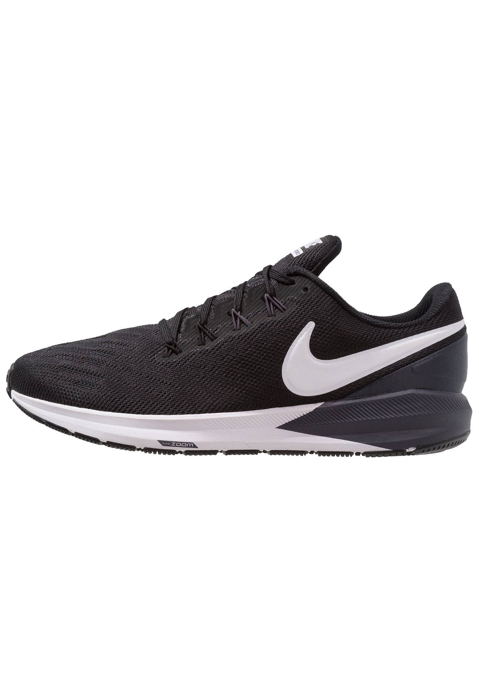 AIR ZOOM STRUCTURE 22 - Zapatillas de running estables -  black/white/gridiron