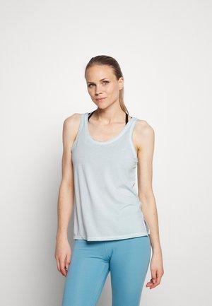 DYE TANK - Sports shirt - cerulean