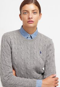 Polo Ralph Lauren - JULIANNA  - Jumper - fawn grey heather - 3