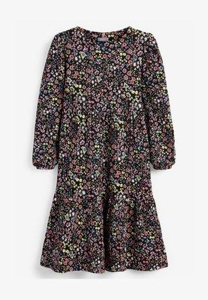 PRINTED - Denní šaty - mottled black