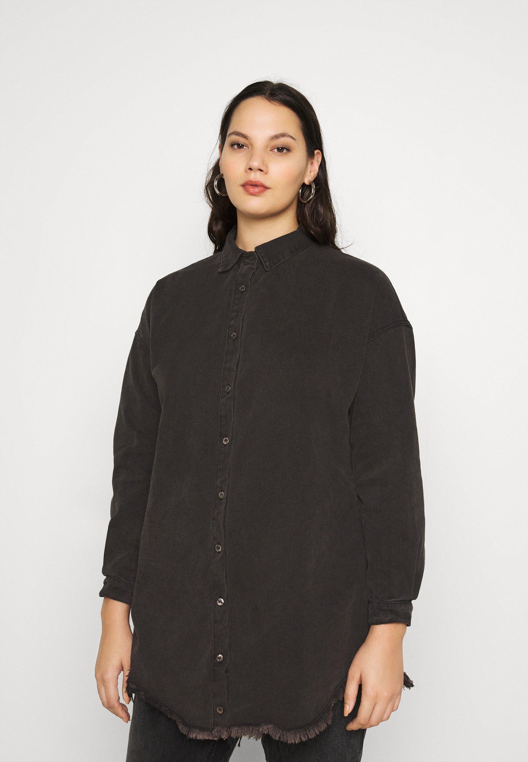 Women OVERSIZED - Button-down blouse