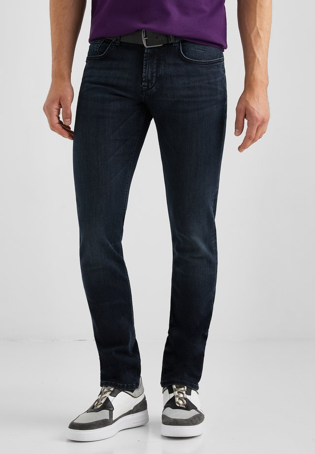 Slim fit jeans - blau used