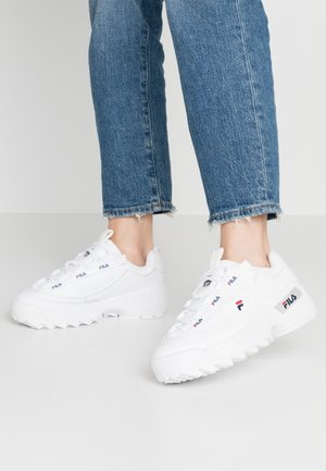 D-FORMATION - Matalavartiset tennarit - white/navy/red
