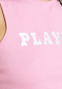 Missguided - PLAYBOY SPORTS RACER CROP - Top - pink - 5