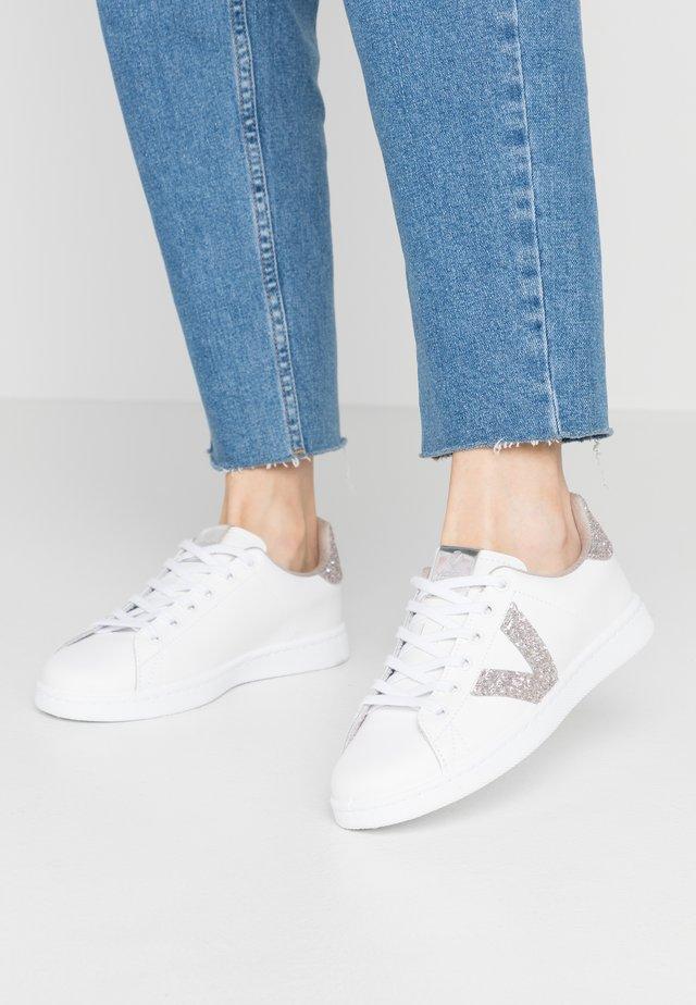 Sneaker low - white/nude