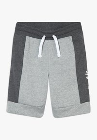 Nike Sportswear - AIR  - Tracksuit bottoms - charcoal heathr/dark grey heather/white - 0