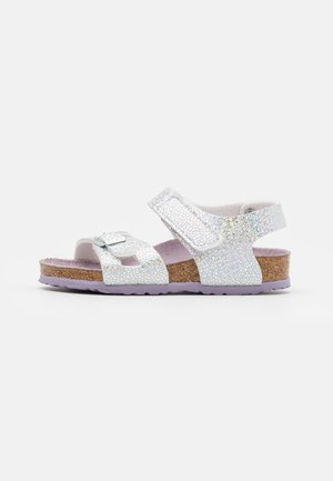 COLORADO DISCO BALL - Sandals - silver/lavender