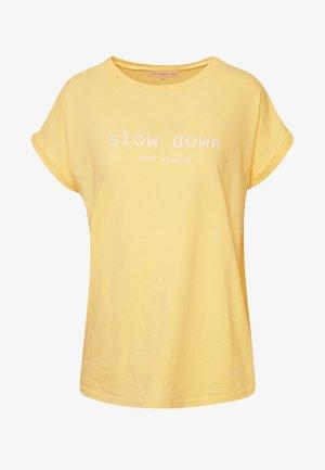 FAITH - Print T-shirt - golden haze