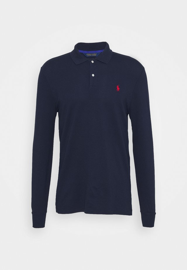LONG SLEEVE - Polo shirt - french navy