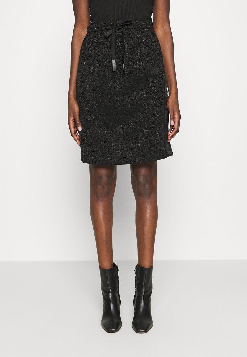 Replay - A-line skirt - black