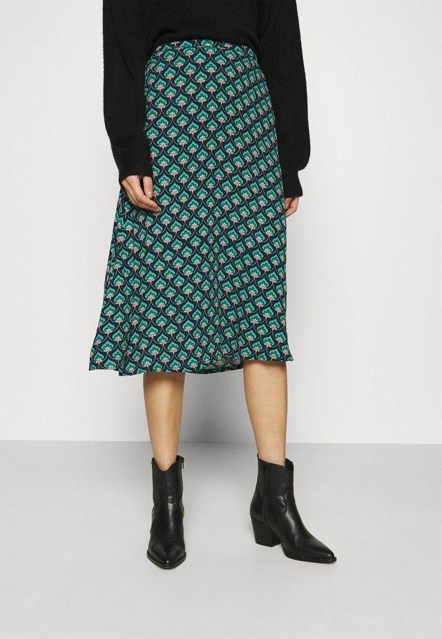JUNO SKIRT EMPEROR - A-line skirt - island green