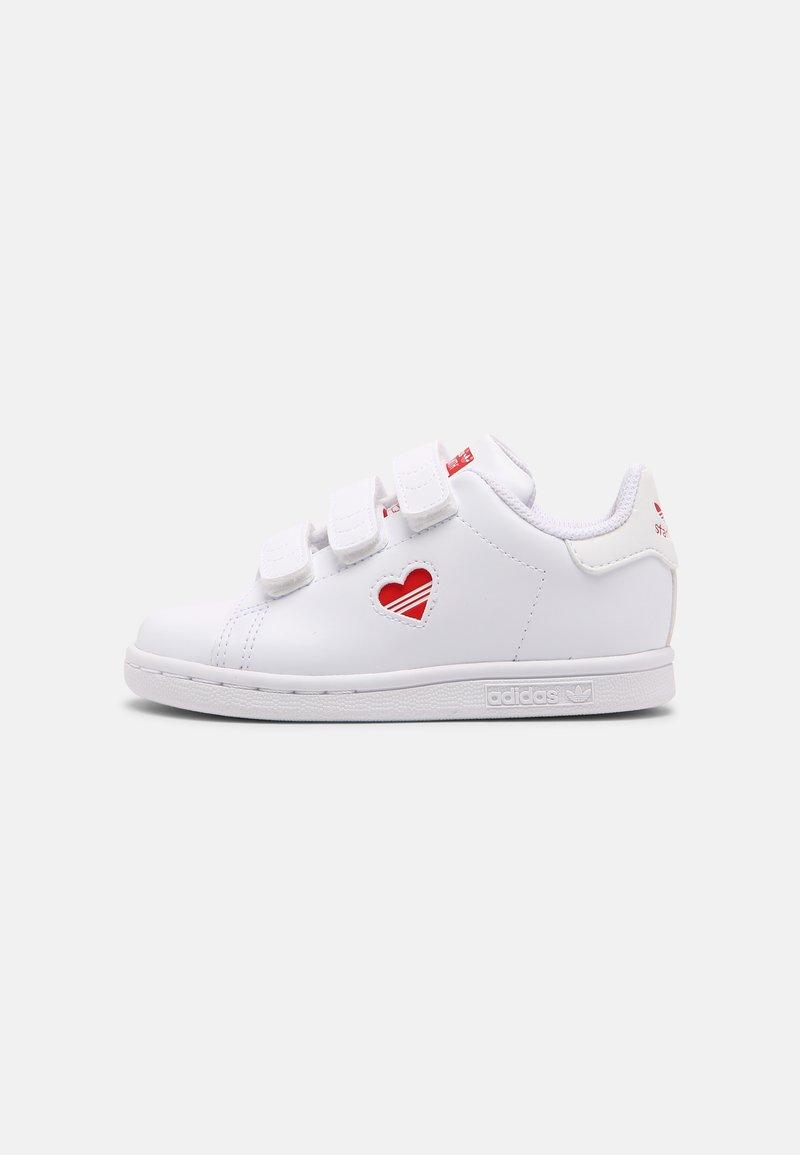 adidas Originals - STAN SMITH UNISEX - Baskets basses - white/vivid red