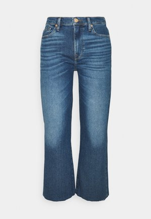 CROPPED ALEXA - Straight leg jeans - mid blue