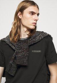 Missoni - SHORT SLEEVE  - T-shirt basic - black - 3